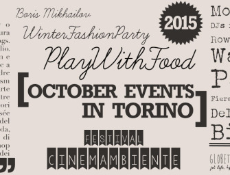 October Events in Torino